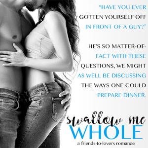 Release Blitz and Giveaway: Swallow Me Whole by Gemma James