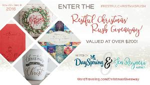Restful Christmas Rush Prize Pack ($220)
