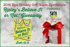 Ripley's Believe It or Not! Unlock The Weird Book Giveaway