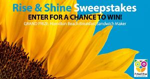 Rise and Shine Sweepstakes