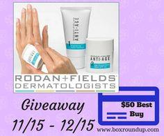 Rodan + Fields Hand cream and $50 Best Buy gift card