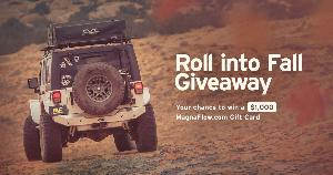 Roll Into Fall Giveaway ~ Win a $1,000 gift card to MagnaFlowcom