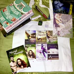 Romance Goodie Box—including books, a tote bag, and more!