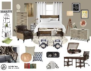 Room Makeover by Online Interior Design Company Laurel & Wolf