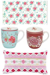 Room Seven Towel, Mugs and Embroidered Pillow Giveaway