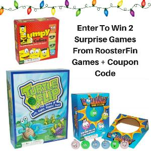 RoosterFin Games Giveaway – WIN 2 games
