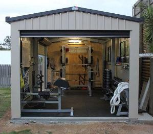 Contest win garage gym makeover or year supply of amrap nutrition