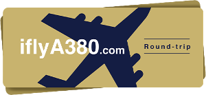 Round-trip Ticket for 2 on Board an A380 (€5,000)