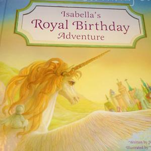 Royal Birthday Adventure Personalized Book