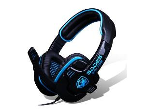 Sade's SA-920 Gaming Headphones + K8 LED Lit Gaming Keyboard ($150)
