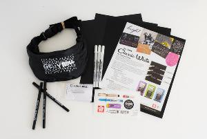 Sakura Classic Black and White Gelly Roll Set Giveaway