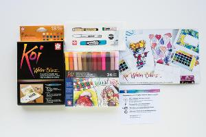 Sakura Koi Water Colors Giveaway