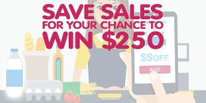 SaleWhale's Save & WIN $250