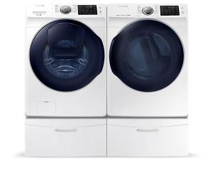 Samsung High-Efficiency Washer and Dryer ($2,200)
