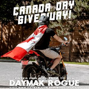 Contest: Win a Daymak Rogue Scooter