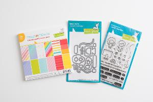 Screen Time Stamp and Paper Set Giveaway
