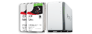 Seagate IronWolf 12TB and Synology DS2 16J GIVEAWAY