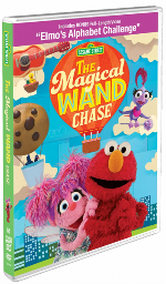 Sesame Street The Magical Wand Chase DVD
