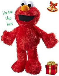 Sesame Street Tickle Me Elmo Plush Toy