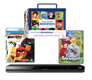 Set of Children's DVDs and a Blu-ray player Giveaway!
