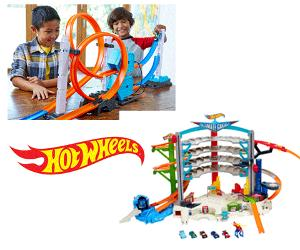 Set of Hot Wheels Toys Giveaway!