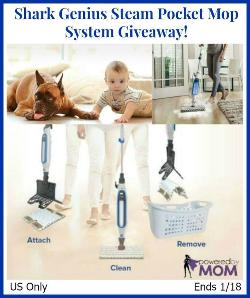 Shark Genius Steam Mop System Giveaway