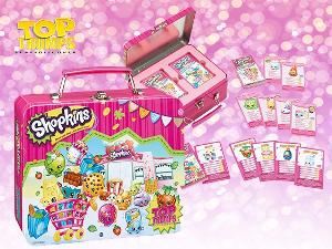 SHOPKINS TOP TRUMPS TIN