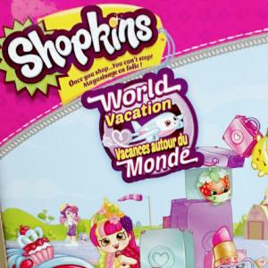 Shopkins World Vacation DVD Prize Pack