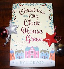 Signed paperback of Christmas at the Little Clock House on the Green by Eve Devon