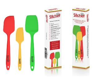 Silchef Silicone 3-Piece Spatula Set Giveaway