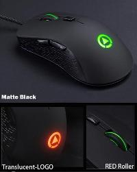 Silent Click Gaming Mouse