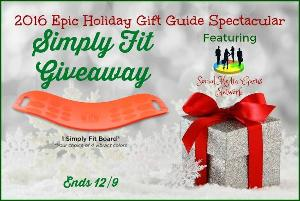 Simply Fit Board Giveaway