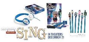 SING Movie Prize Pack (includes Fandango tickets) Giveaway!