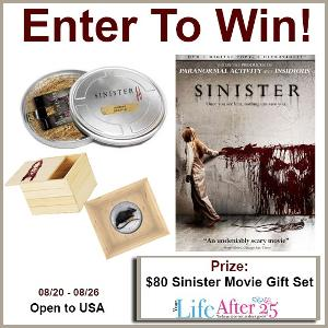 Sinister Movie Prize Pack Giveaway