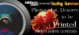 Sizzling Summer photo contest from Inkfarm.com