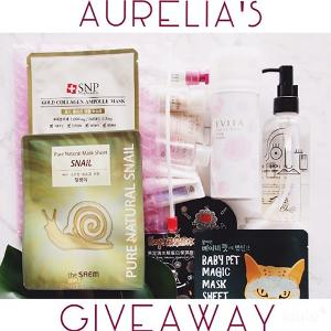 SKINCARE BEAUTY PRODUCTS GIVEAWAY!