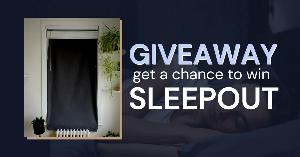 Sleepout, the sleep-improving portable blackout curtain, Giveaway - 5 Winners
