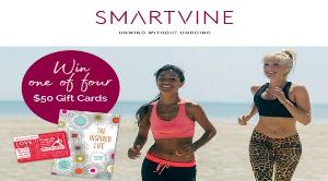 SmartVine Wine--Win One of Four $50 Gift Cards!