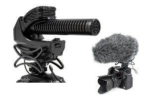SMX-30 Video Microphone with Furry Windshield""