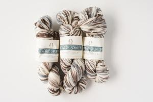 Snowy Thicket Prairie Spun Yarn Bundle