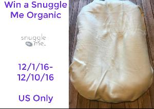 Snuggle Me Organic Co-Sleeping Bed Giveaway