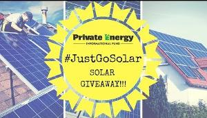 Solar Panel Giveaway