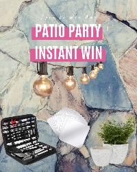 Spin Daily To Win Prizes: Outdoor String Lights 25 Feet; Outdoor Garden Planters; KimDaro Removable Acrylic Mirror Setting; OlarHike Grilling Accessories BBQ!