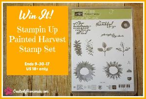 Stampin Up Painted Harvest Stamp Set