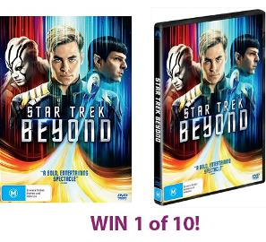 Star Trek Beyond DVDs Giveaway!!! ►☺◄ (Australia Residents Only)