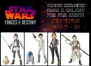Star Wars Forces of Destiny Adventure Figures