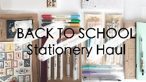 Stationery Haul and school supplies
