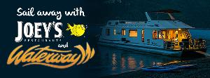 Stay-cation and Sail Away at Waterway Houseboat!