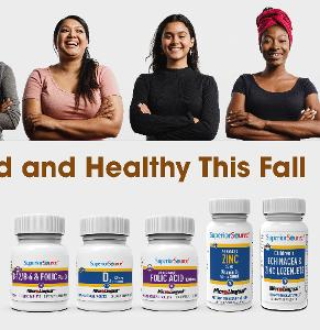 Stay Fortified and Healthy This Fall Vitamins Giveaway