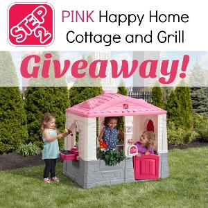 Step2 Happy Home Cottage and Grill Giveaway